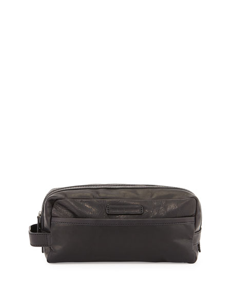 Frye Logan Leather Toiletry Kit