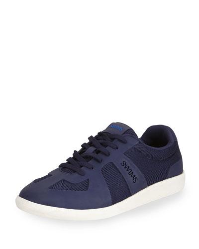 Luca Water-Resistant Sneaker, Navy
