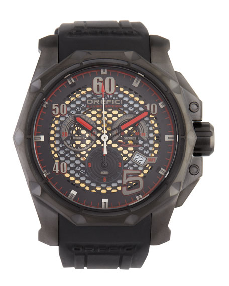 E.J. Viso Limited Edition Watch, Black