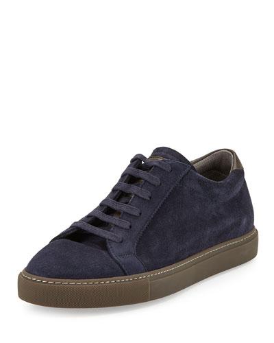 Kudu Suede Sneaker, Blue
