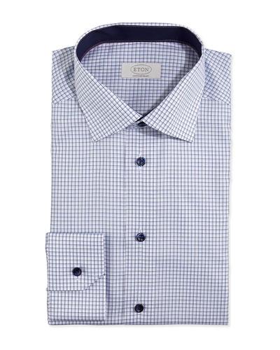 Graph-Check Dress Shirt