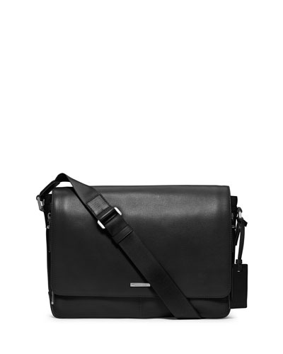 Large Messenger Bag, Black