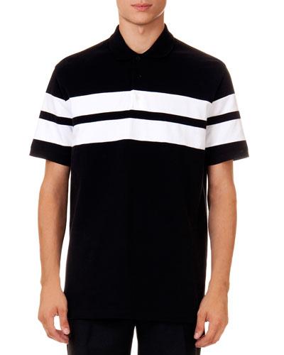 Double-Stripe Polo Shirt
