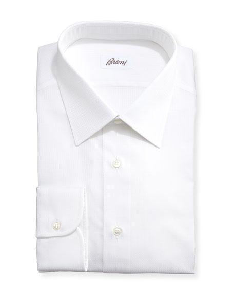Textured Grid-Check Shirt