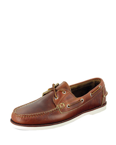 Freeport Boat Shoe, Chicago Tan
