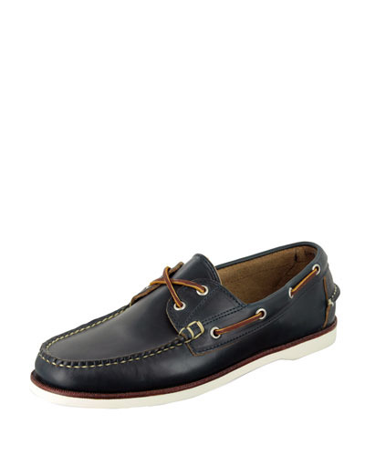 Freeport Boat Shoe, Navy