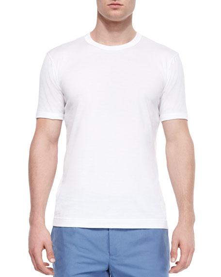 Dolce & Gabbana Basic Crewneck T-Shirt, White
