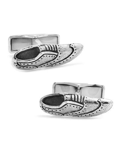 Brogue Shoe Cuff Links