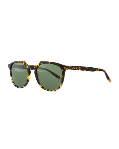 Barton Perreira Rainey Top-Bar-Detail Sunglasses