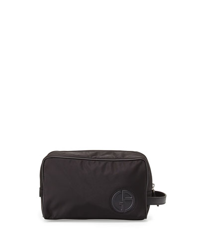 Logo Nylon Toiletry Bag