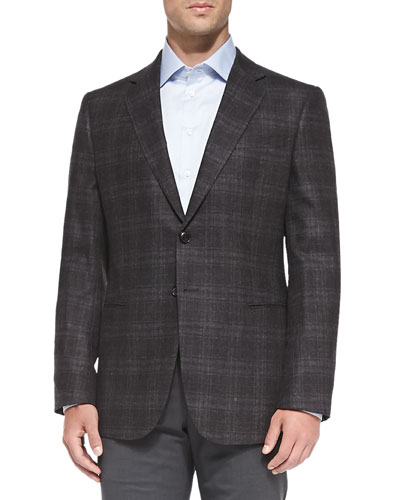 Taylor Windowpane Jacket