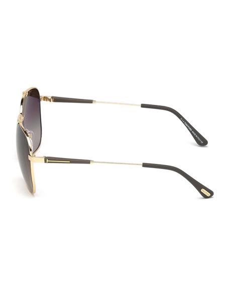 9f7c15527859 TOM FORD Edward Square Sunglasses