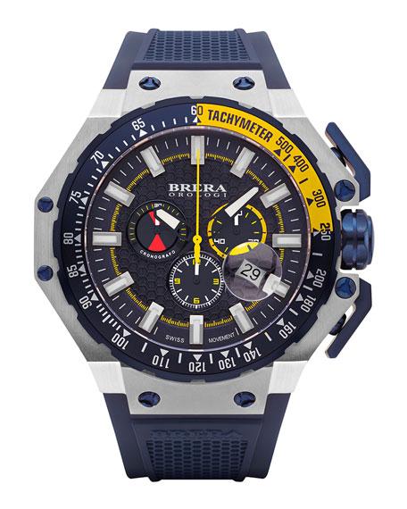 Brera Gran Turismo Chronograph Watch, Navy