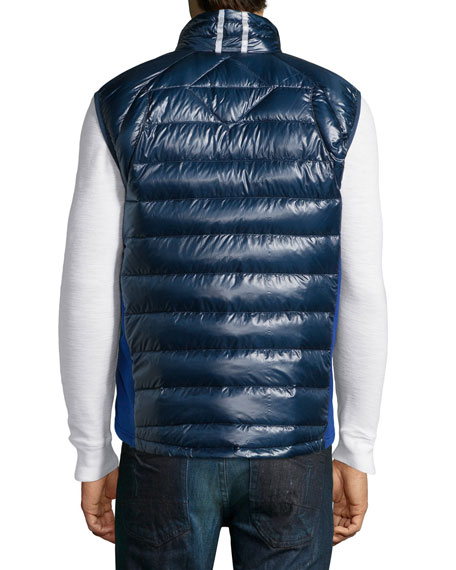 Hybridge Lite Puffer Vest, Navy