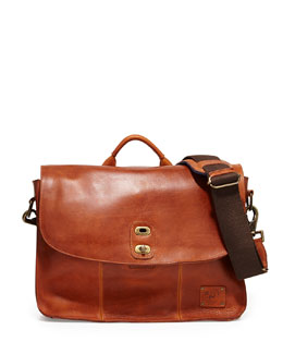 Kent Leather Messenger Bag