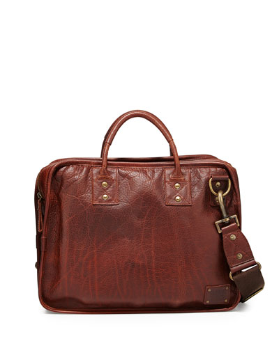 Hank Leather Satchel Bag