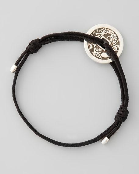 Naga Silver Coin Station Bracelet