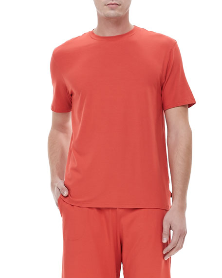 Basel I Jersey Tee, Poppy Red