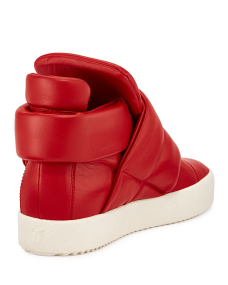 giuseppe zanotti two high top sneaker