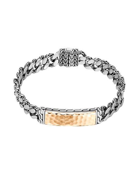 John Hardy Gourmette Classic Chain ID Bronze Bracelet