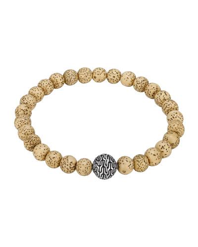 Lotus Seed Bead Bracelet