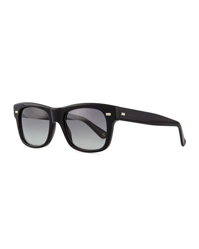 Classic Sport Sunglasses, Black
