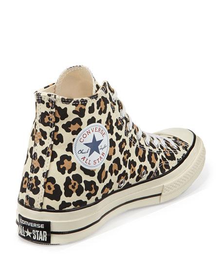 Star Chuck '70 High-Top Sneaker, Cheetah