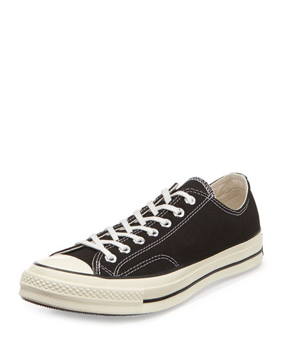 All Star Chuck '70 Low-Top Sneaker, Black