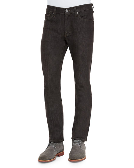 7 For All Mankind Slimmy Cashmere Denim Jeans, Brown/Gray