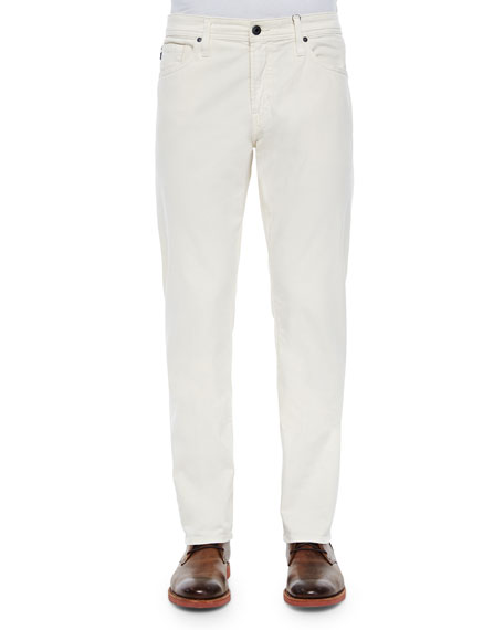 AG Adriano Goldschmied Graduate Sulfur Ivory Sud Jeans