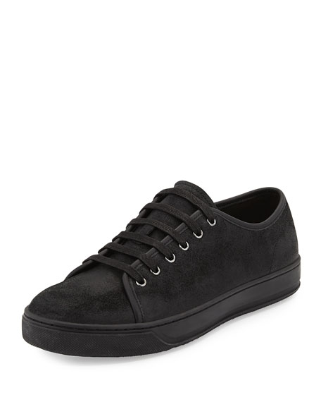 6e6b433e88fc9d Vince Men s Austin Waxed Leather Low-Top Sneakers