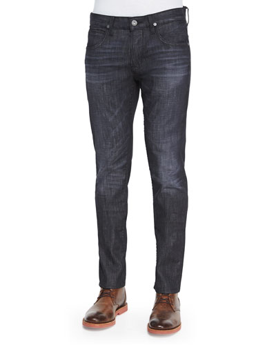 Byron Straight-Leg Jeans, Black