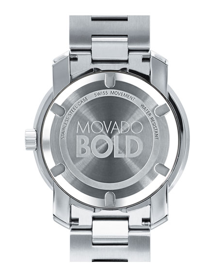 42.5 Stainless Steel Watch, Silver