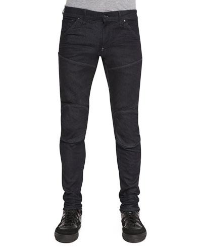 5620 3D Super Slim Stretch Moto Jeans