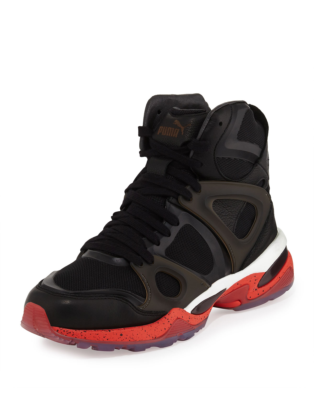 4937d34da85c PUMA X McQ Run Mid High-Top Sneakers