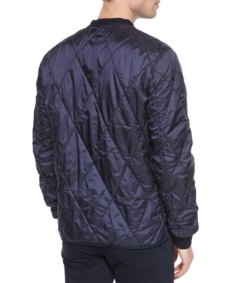 4591cd543c6 Burberry Brit Quilted Bomber Jacket
