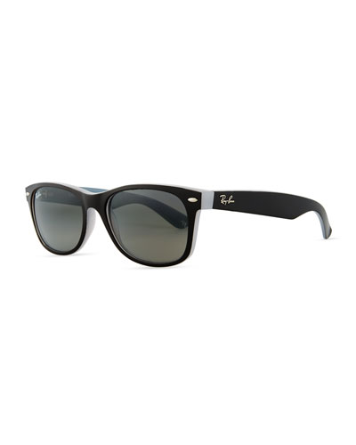 New Wayfarer Classic Sunglasses, Gunmetal