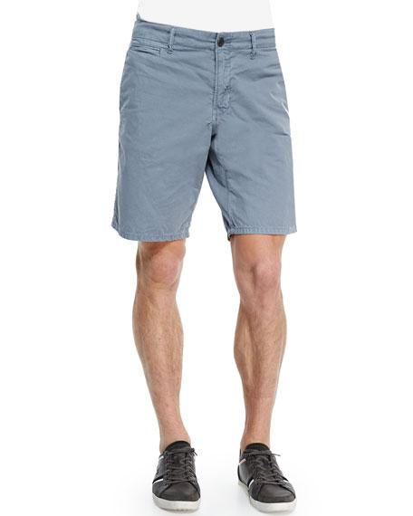 Original Paperbacks Bedford Cord Cotton Shorts, Light Gray