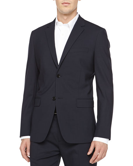 Theory Wellar New Tailor Blazer, Navy