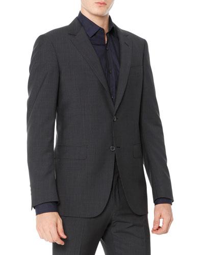 Attitude Check Jacket, Gray