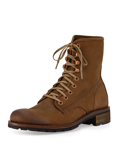 Hartmann 1000 Mile Leather Lace-Up Boot