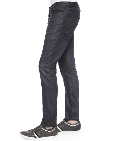 Celebrity Pink Coated Skinny Jeans   belk