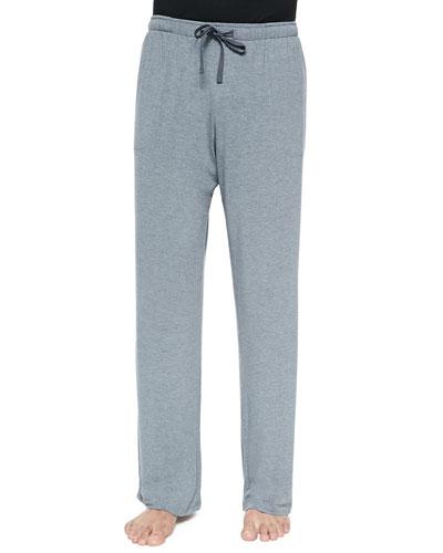 Basel Jersey Lounge Pants, Gray