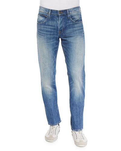 Byron Arroyo Straight-Leg Jeans, Blue