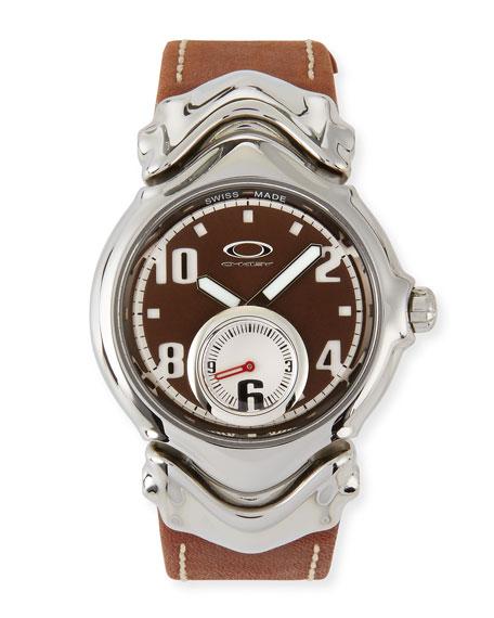 Jury II Leather-Strap Watch