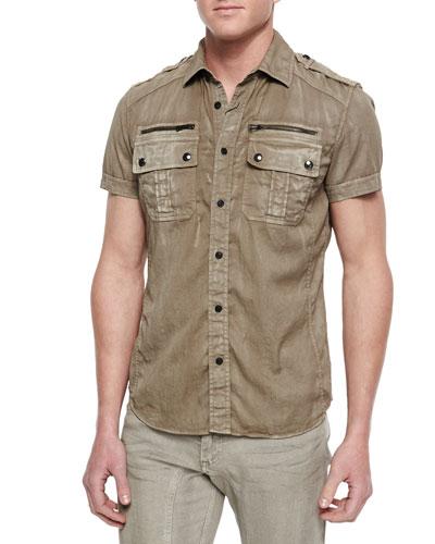 Franklin Short-Sleeve Two-Pocket Shirt