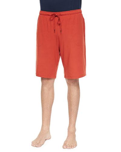 Basel Jersey Lounge Shorts, Paprika