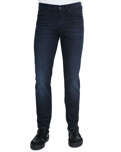 Ace Oreo Slim-Fit Jeans, Black