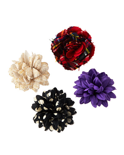 Mixed 4-Pack of Boutonnieres