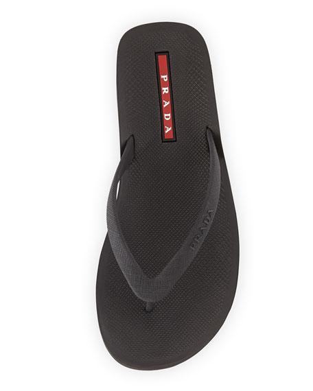 59b4c1c18653b Prada Rubber Flip Flop